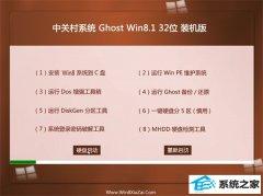 中关村Win8.1 2021.04 32位 精选装机版