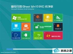 番茄花园Windows10 64位 安全纯净版 2021.04