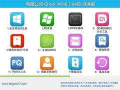 电脑公司Windows8.1 64位 专业纯净版 2021.06